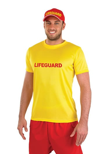 Lifeguard Men's Fancy Dress Costume