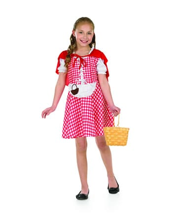 Red Riding Hood Children's Fancy Dress Costume (NEW)-0