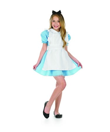 Traditional Alice Children's Fancy Dress Costume