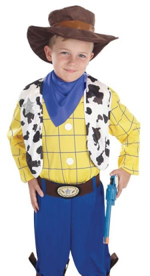 The Cowboy Kid (Woody) Children's Fancy Dress Costume