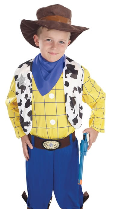 The Cowboy Kid (Woody) Children's Fancy Dress Costume