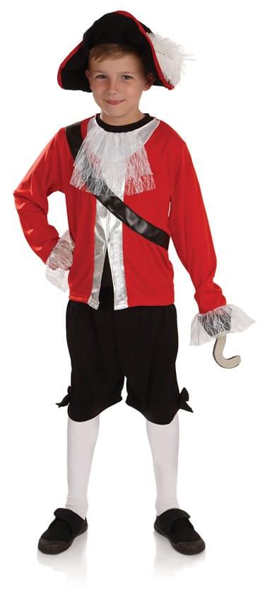 Pirate Captain Children's Fancy Dress Costume