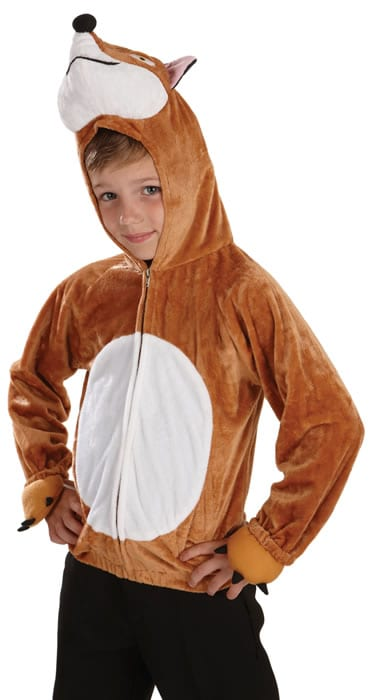 Fox Top Children's Animal Fancy Dress Costume