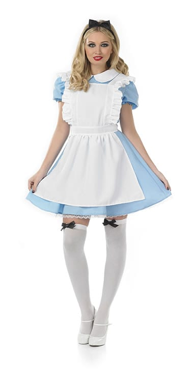 Alice Traditional Ladies Fancy Dress Costume