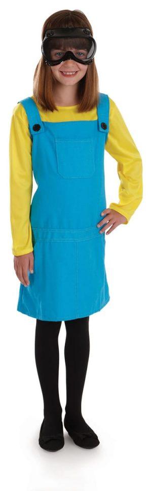 Little Welder's Girl (Minion) Children's Fancy Dress Costume-0