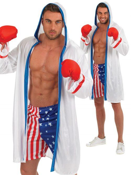 Boxer Men's Fancy Dress Costume