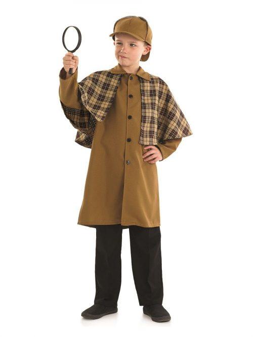 Victorian Detective Children's Fancy Dress Costume