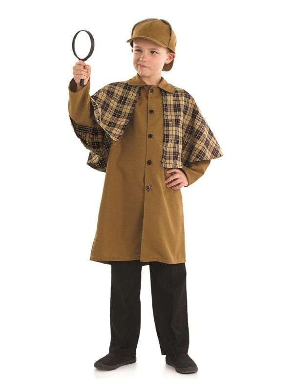 Victorian Detective Children's Fancy Dress Costume