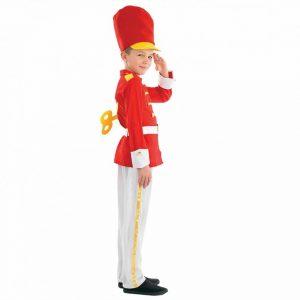 Tin Soldier Boy Children's Fancy Dress Costume