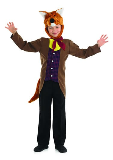 Mr Fox Children's Fancy Dress Costume
