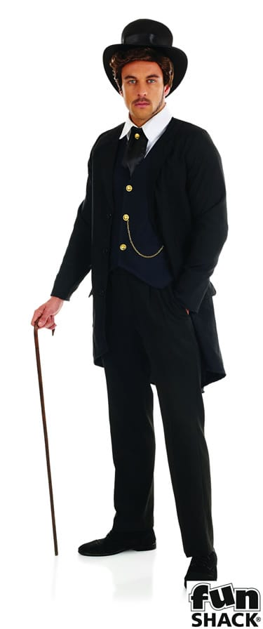 Victorian Man Men's Fancy Dress Costume