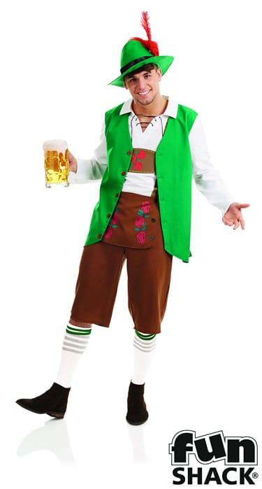 Traditional Bavarian Man Men's Fancy Dress Costume