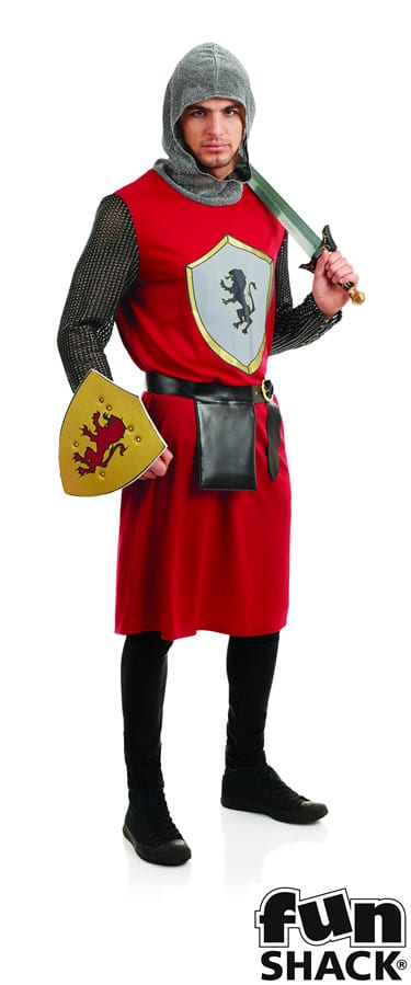 Kings Knight Men's Fancy Dress Costume