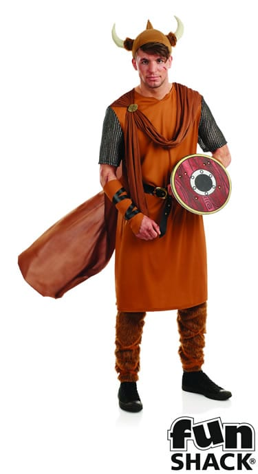 Viking Man Men's Fancy Dress Costume