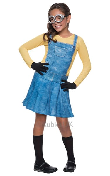 Despicable Me Minion Girl Children's Fancy Dress Costume (NEW)