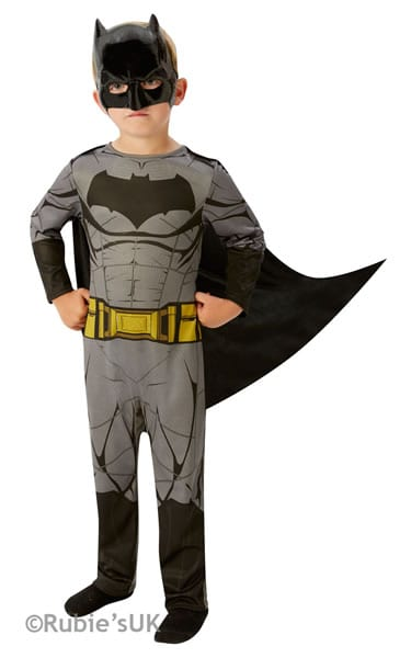 Batman Dawn of Justice Super Hero Childrens Fancy Dress Costume