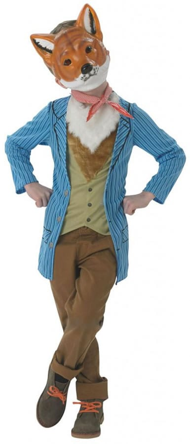 MR FOX CHILDRENS FANCY DRESS