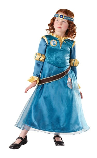 Disney's Deluxe Brave Merida Children's Fancy Dress Costume
