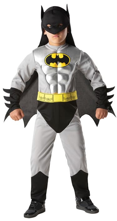 Batman Dark Knight Rises Total Armour Children's Super Hero Fancy Dress Costume