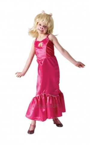The Muppet Show Miss Piggy Children's Fancy Dress Costume
