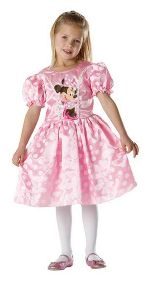 Disney's Classic Pink Minnie Children's Fancy Dress Costume
