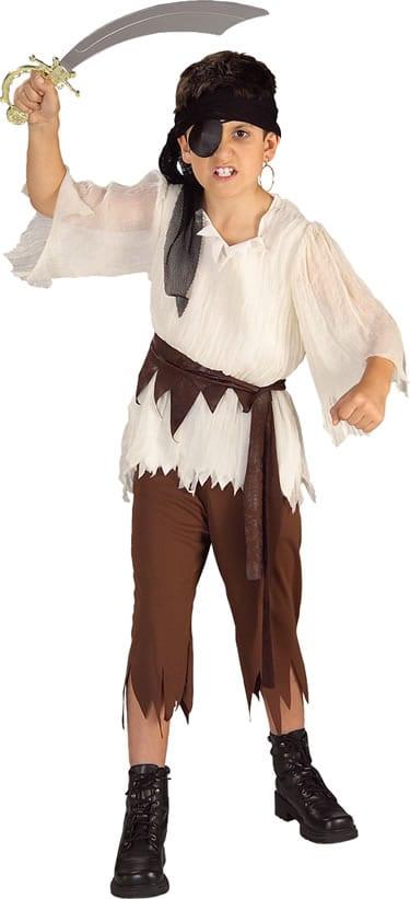 Pirate Boy Children's Fancy Dress Costume
