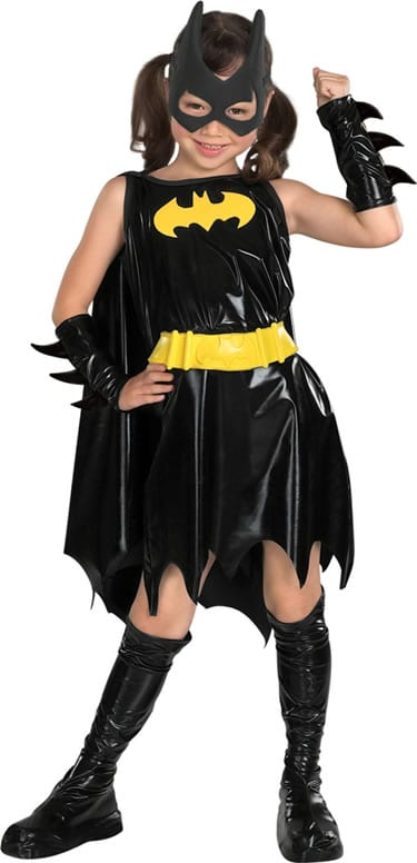 Batgirl Super Hero Childrens Fancy Dress Costume