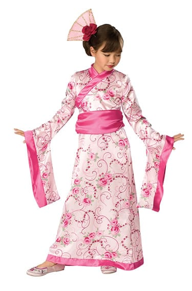 Asian Princess Children's Fancy Dress Costume