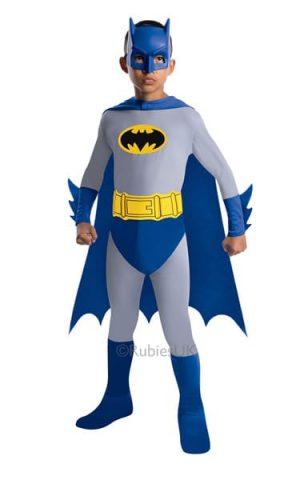 Batman Super Hero Childrens Fancy Dress Costume