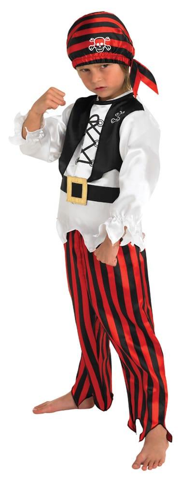 Raggy Pirate Boy's Children's Fancy Dress Costume