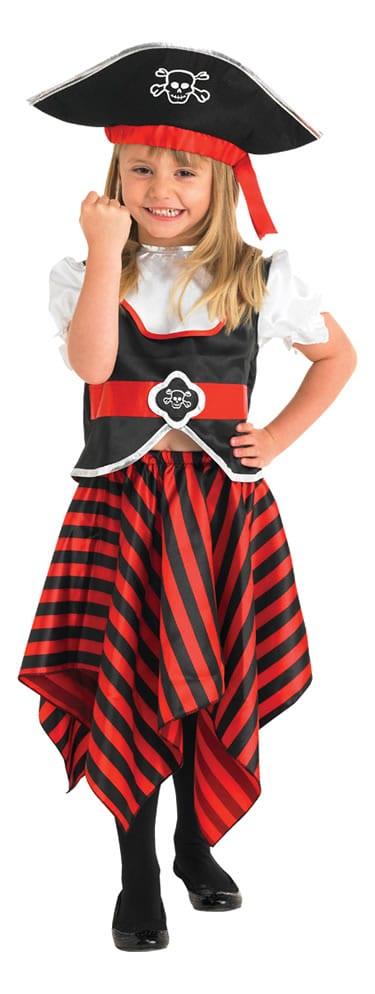 Raggy Pirate Girl Children's Fancy Dress Costume