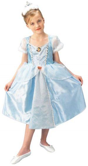 Disney's Deluxe Cinderella Childrens' Fancy Dress Costume (DISC)