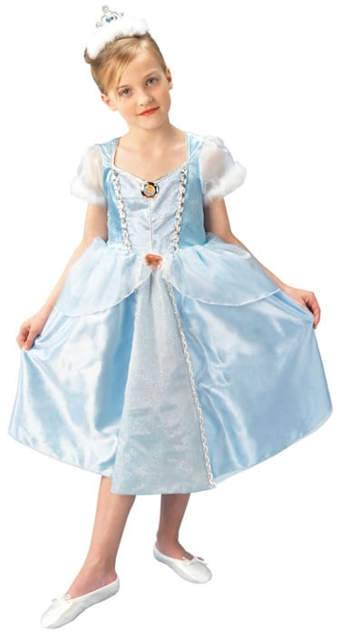 Disney's Deluxe Cinderella Childrens' Fancy Dress Costume (DISC)