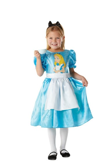 Disney's Classic Alice in Wonderland Childrens Fancy Dress Costume
