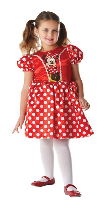 Disney's Classic Red Minnie Children's Fancy Dress Costume