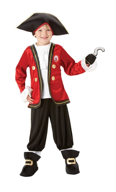 Disney's Captain Hook Childrens Fancy Dress Costume