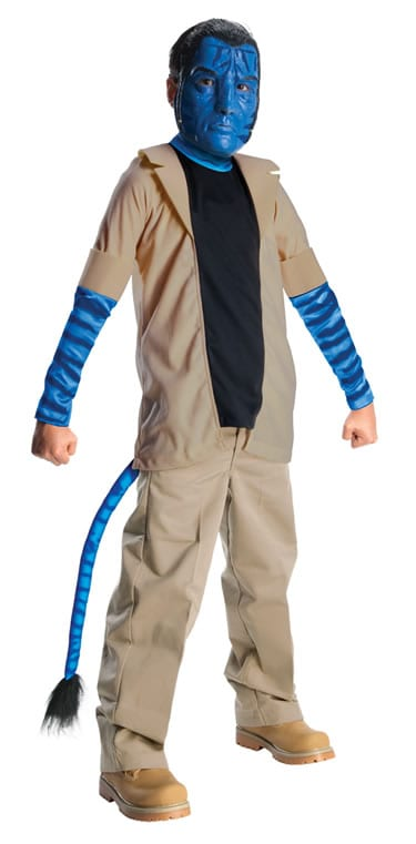 Avatar's Jake Sully Children's Fancy Dress Costume