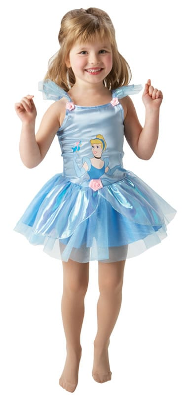 Disney's Ballerina Cinderella Children's Fancy Dress Costume