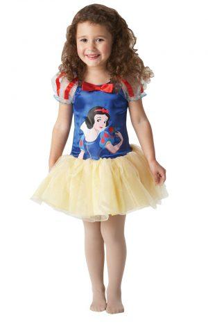 Disney's Ballerina Snow White Children's Fancy Dress Costume