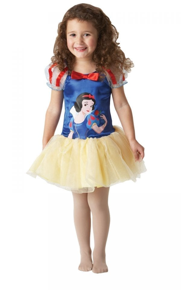 Disney's Ballerina Snow White Children's Fancy Dress Costume