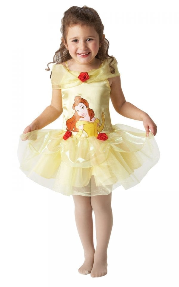 Disney's Ballerina Belle Children's Fancy Dress Costume