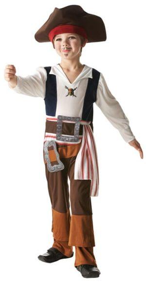 Disney's Captain Jack Children's Fancy Dress Costume