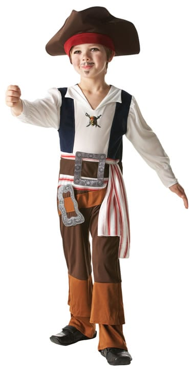 Disney's Captain Jack Children's Fancy Dress Costume