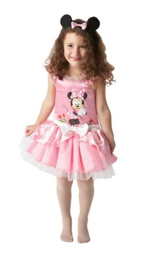 Disney's Ballerina Minnie Mouse Pink Children's Fancy Dress Costume