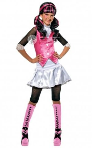Monster High Draculaura Children's Fancy Dress Costume