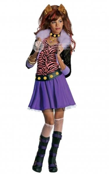 Monster High Clawdeen Wolf Children's Fancy Dress Costume