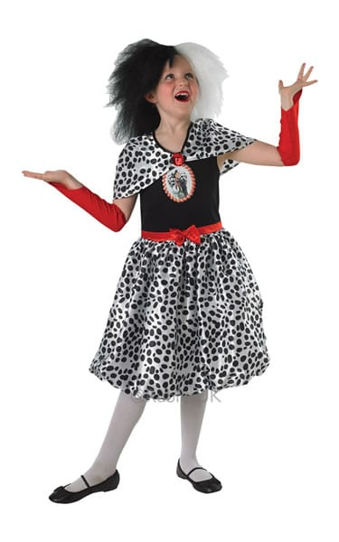 Disney's Cruella de Vil Tween Children's Fancy Dress Costume