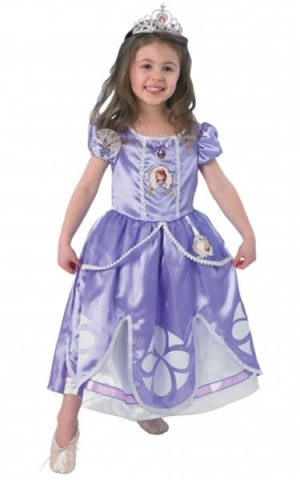 Disney's Deluxe Sofia the First Children's Fancy Dress Costume