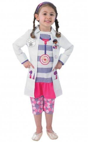 Doc Mcstuffin Children's Fancy Dress Costume