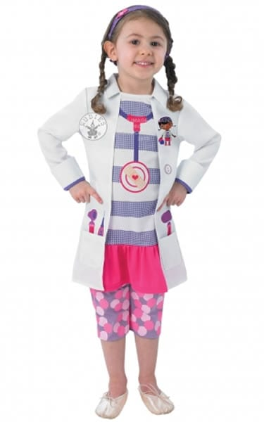 Doc Mcstuffin Children's Fancy Dress Costume